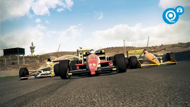F1 2013: una nueva temporada y feroces carreras de coches clásicos