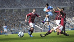 FIFA 14 muestra su lluvia, un elemento ausente en PES 2014