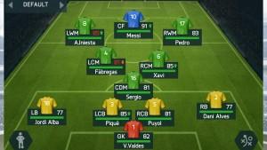 FIFA 14: puntuaciones de todos los jugadores del Barça
