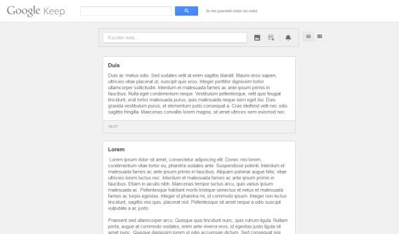 O Google Keep no navegador ocupa espaço demais e não facilita a integração com outros serviços