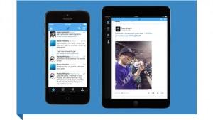 La app de Twitter para iPhone y iPad se rediseña para recibir a iOS 7