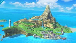 Smash Bros. de Wii U: Mario lucha a lomos de una avioneta Nintendo