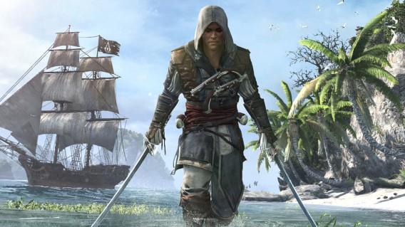 Assassin's Creed 4 : Black Flag - PS3, Xbox 360, Wii U
