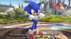 Smash Bros de Wii U: vídeo oficial con Sonic, nuevo luchador
