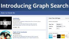 Graph Search permitirá buscar actualizaciones de estado y comentarios en Facebook