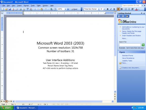 La version de 2003 a introduit plusieurs touches de couleur inquiétantes