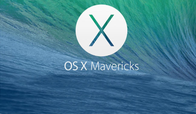 Apple actualiza OS X Mavericks antes de su puesta de largo