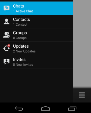 Adding contacts in BBM is complicated