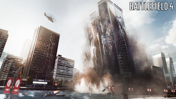 Battlefield 4 Siege of Shanghai multiplayer map