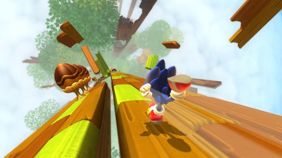 Sonic Lost World  – Wii U, 3DS