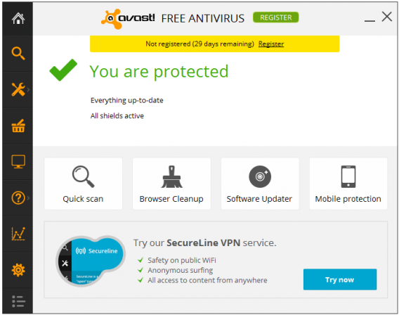 Antivírus Avast