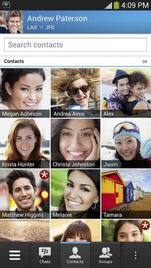 BlackBerry Messenger (BBM) pour Android et iOS