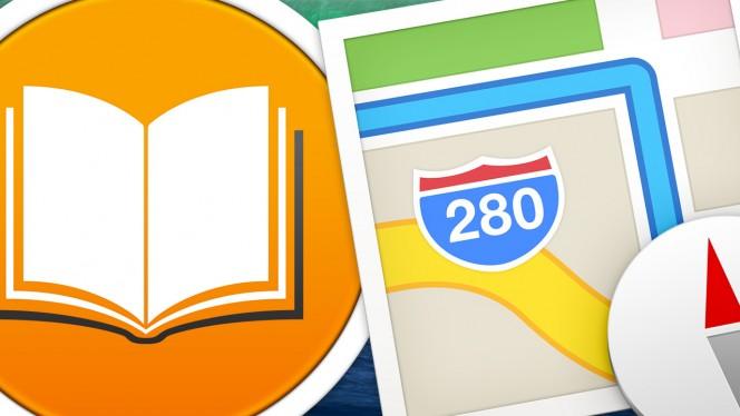 iBooks y Mapas en OS X Mavericks