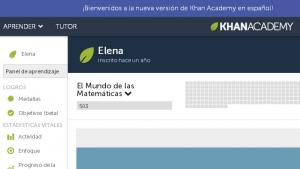 La web de cursos online Khan Academy, ahora en español