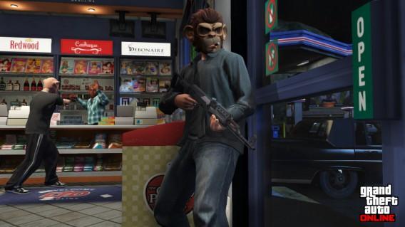 Dans GTA Online, braquer des magasins et les piétons permet de gagner de l'argent