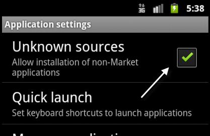 tela instalação aplicativos
