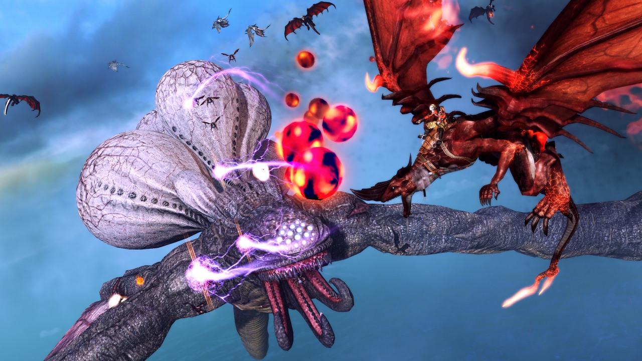 Análisis Xbox One: Crimson Dragon