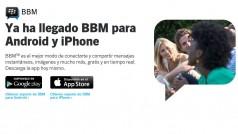 BlackBerry Messenger vendrá instalada por defecto en diversos móviles Android
