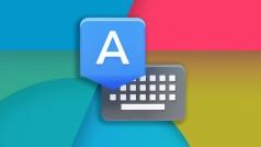 El teclado de Android 4.4 KitKat se puede descargar en Google Play