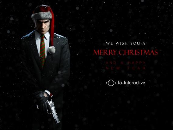 Hitman IO Interactive Holiday card