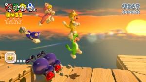 Super Mario 3D World de Wii U revela sus secretos desbloqueables: ¡alerta!