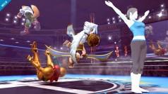 Un imagen de Smash Bros Wii U revela los efectos dramáticos de sus luchas