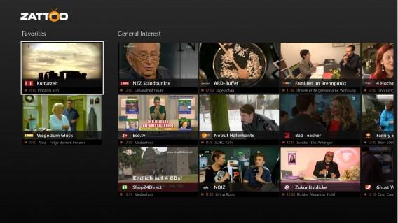Xbox One : Zatoo est la manière la plus sociale de regarder la télévision