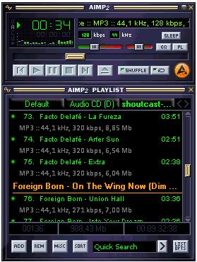 Mod do Winamp para AIMP é bem fiel ao original