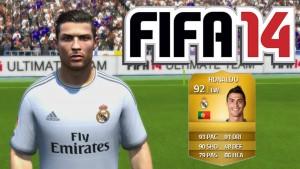 CR7 es temporalmente más hábil en FIFA 14; no es el Balón de Oro pero…