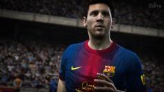 Un Messi virtual repasa en tu monitor las novedades de FIFA 14 next-gen