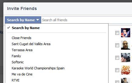 Créer des événements sur Facebook : qui inviter?
