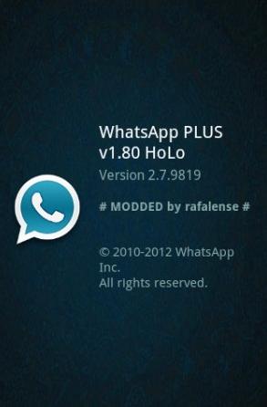 WhatsApp PLUS Holo