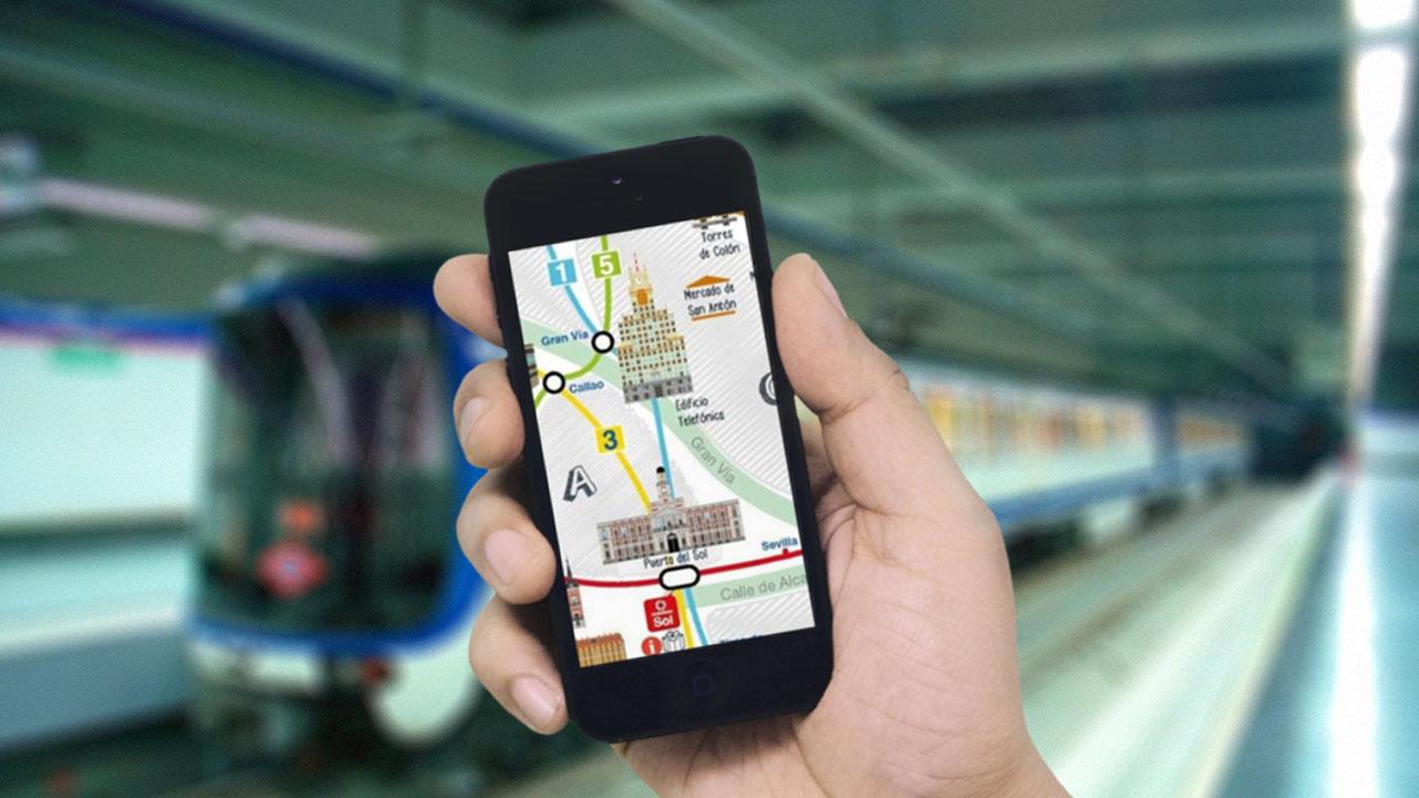 No te pierdas en el Metro de Madrid con estas apps