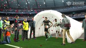 """PES 2014 imita a FIFA 14: imágenes de su """"Pro Clubs"""""""