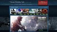 Steam Store: ¿se filtran las fechas de sus rebajas de Navidad?