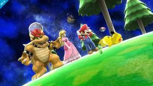 Super Smash Bros. Wii U jugará con la gravedad en su nueva fase galáctica
