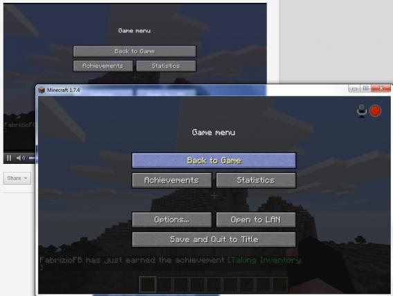 Minecraft broadcasting