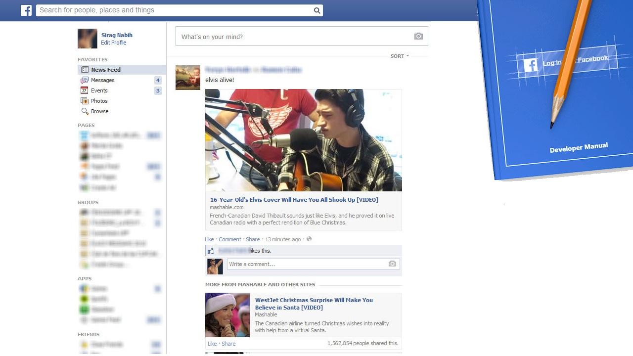 Facebook vigila lo que publicas… y lo que no publicas