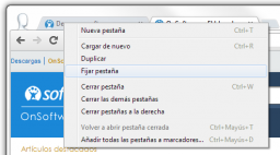 Cómo Fijar pestaña en Chrome y Firefox