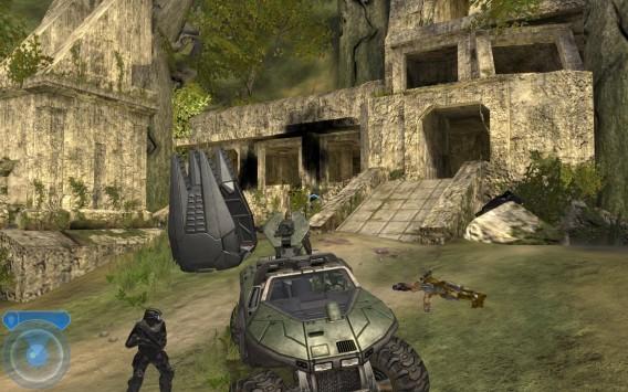 O primeiro Halo tem gráficos que um celular tem poder para adaptar