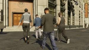 Trucos de GTA 5 Online para subir rápido de nivel. Hoy: la pared mágica