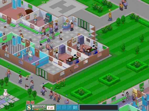 Theme Hospital foi um simulador muito popular na década de 1990