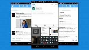 Twitter rediseña sus apps para móvil, permite el envío de fotos por DM