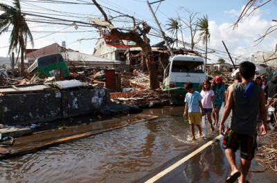 In an area devastated by disaster, there are many problems facing a fixed telephone network