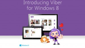 Viber llega a Windows 8.1