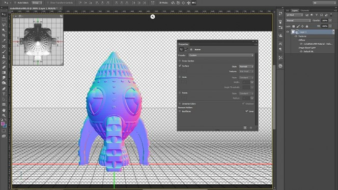 Adobe Photoshop es cada vez más 3D: las novedades de la versión CC