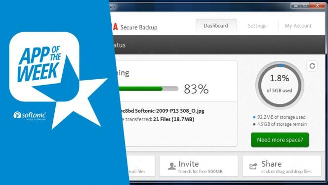 Tu backup en la nube con Avira Secure Backup, la app de la semana
