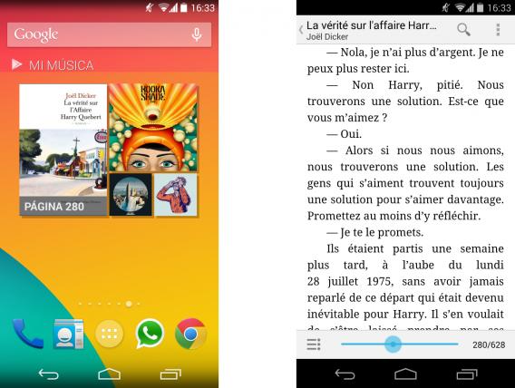 Arquivo enviado na web pode ser baixado para leitura no celular