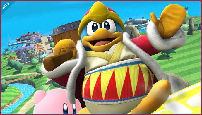 Nuevo amorío en Super Smash Bros. Wii U: el pingüino y la princesa Zelda