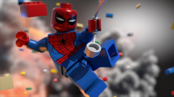 Lego Marvel Super Heroes : action collaborative et zéro violence